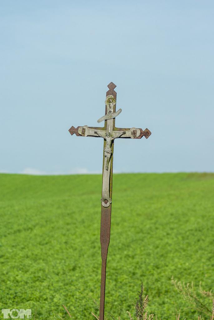 Garzewko, krzyż