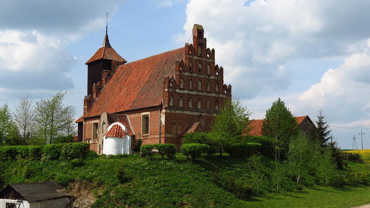 Kościół w Tłokowie, kier. zach.
