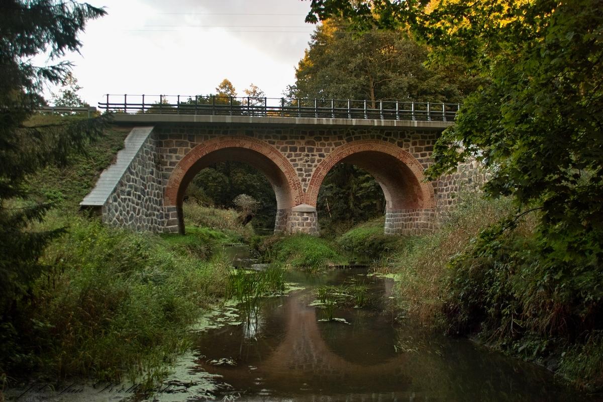 Most drogowy na Drwęcy Warmińskiej w Krośnie (dawniej Bludyny)