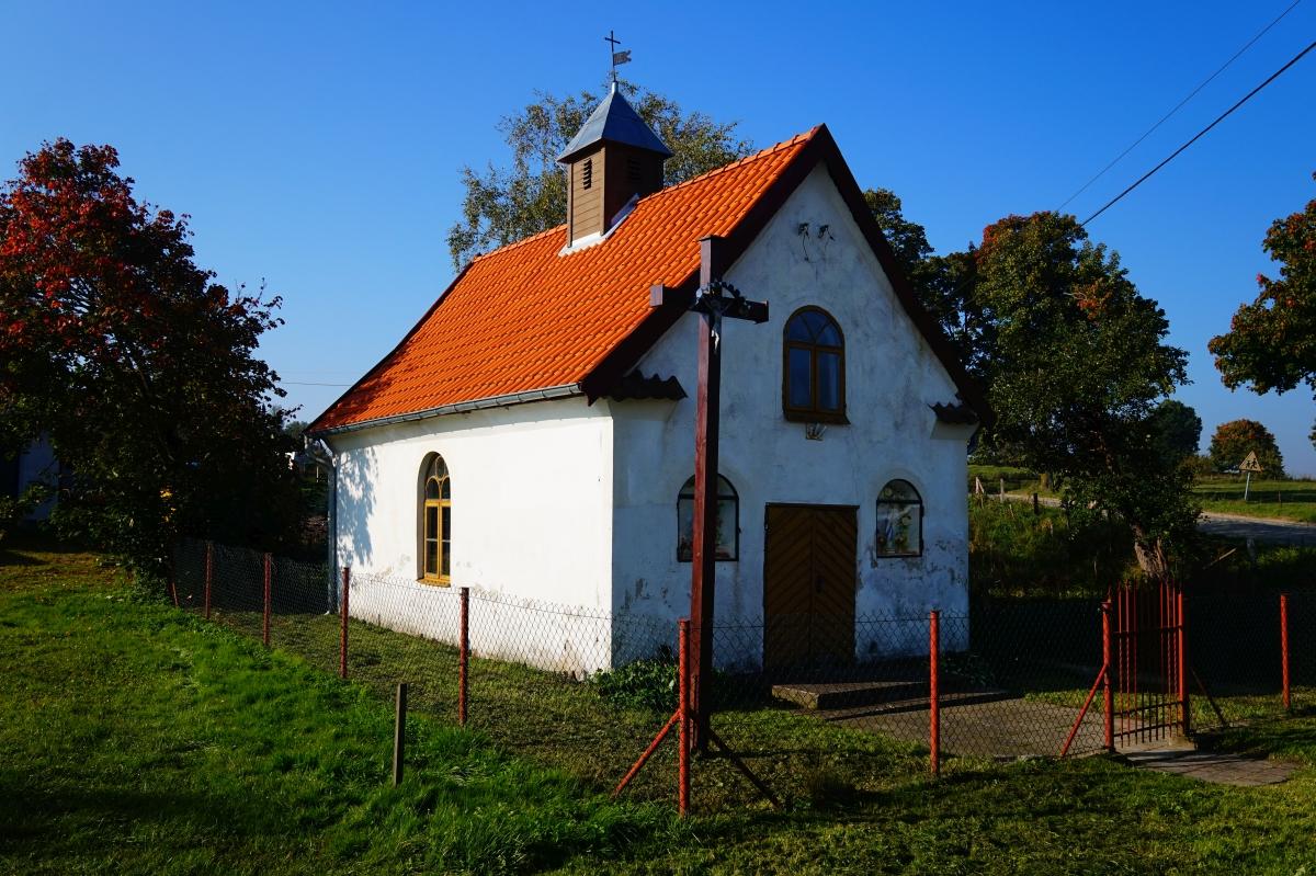 Wieś Wolnica, Kaplica pw. wezwaniem świętego Michała Archanioła