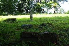 Bisztynek. Pozostałości cmentarza ewangelickiego