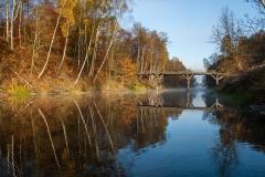 Brąswałd - stary most na Łynie