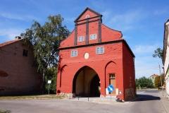 Brama Lidzbarska w Bisztynku (po remoncie)