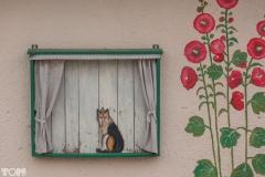 Bukwałd - dom z malunkami