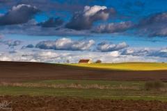 Czarny Kierz, wiosenna panorama