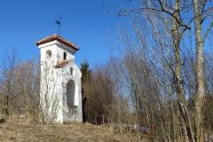 Dobrąg - najstarsza kapliczka na Warmii - z 1601 r., kierunek północny