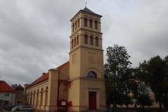 Dobre Miasto, dawny kościół ewangelicki (obecnie Centrum Kulturalno - Biblioteczne)