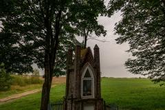 Kapliczka przy drodze Frączki - Studzianka