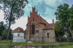 Ełdyty Wielkie, kościół pw. św. Marcina z XIV wieku