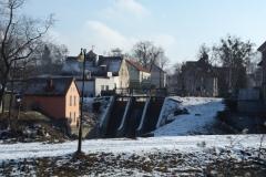 Elektrownia na rzece Symsarnie w Lidzbarku Warmińskim