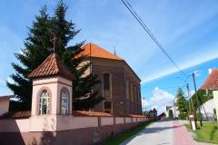 Franknowo. Kościół pw. św. Stanisława Biskupa i Męczennika i św. Katarzyny