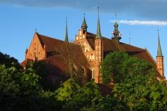 Frombork - Katedra, na pd-zach