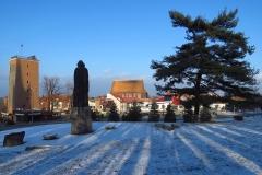 Frombork - w stronę miasta, kier.pn.