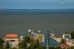 Frombork - widok na Zalew Wiślany