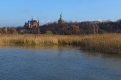 Frombork, widok z molo, na pd-wsch