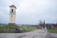 Gietrzwałd, z sanktuarium i kapliczkami drogi krzyżowej