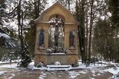 Golgota, Cmentarz Komunalny w Lidzbarku Warmińskim