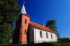 Jarandowo, pow. lidzbarski. Kościół pw. Narodzenia Najświętszej Maryi Panny