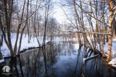 Jez. Ustrych, rzeka Łyna - kier. zachodni