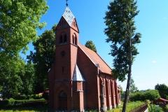 Jeziorany. Kościół pw. Błogosławionej Jadwigi