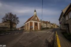Jeziorany, kaplica św. Krzyża