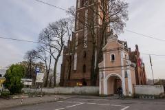 Jeziorany, kościół św. Bartłomieja