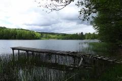 Jezioro Bez Nazwy koło wsi Gągławki, brzeg północno-wschodni