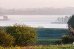 Jezioro Blanki, widok z okolicy Radostowa
