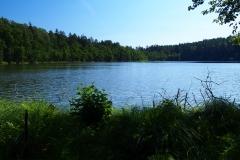 Jezioro Giglajny, okolice wsi Kochanówka