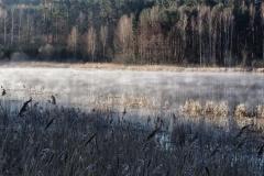 Jezioro Kielarskie o świcie - kier. poł. - wsch.