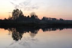 Jezioro Szałstry, kierunek zach-pn