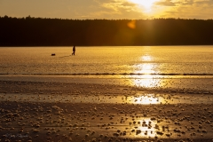 Jezioro Wadąg, północna część