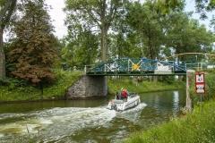 Kanał Tałcki - droga wodna z Mikołajek na Mamry