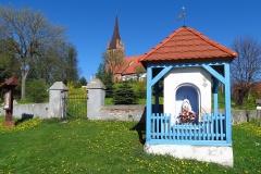Kapliczka w Brąswałdzie, kier. pn-zach.