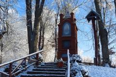 Kapliczka w Rusi, kierunek południowo-wschodni