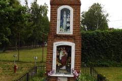 Kapliczka we wsi Tomaszkowo