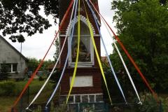 Kapliczka we wsi Unieszewo przy drodze do wsi Gietrzwałd