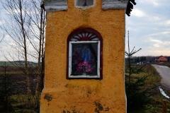 Kapliczka, wieś Lauda