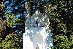 Kapliczka, wieś Stoczek, pow. lidzbarski