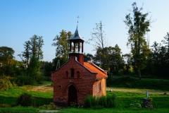Kapliczka. Wieś Medyny, pow. lidzbarski