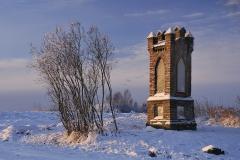 Kapliczka koło Sętala