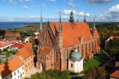 Katedra pw. Wniebowzięcia Najświętszej Maryi Panny i św. Andrzeja we Fromborku, kierunek północno-wschodni