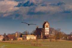 Kiwity, widok na wioskę od strony Stoczka