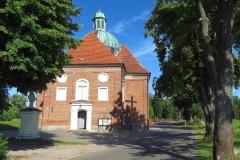 Kościół św. Krzyża w Braniewie, kier. wsch.