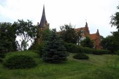 Kościół we wsi Brąswałd