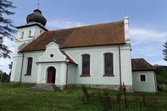 Kościół we wsi Ignalin koło Lidzbarka Warmińskiego