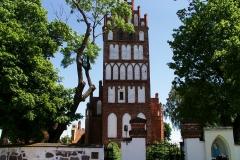 Kościół we wsi Kiwity