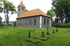 Kościół we wsi Kurki