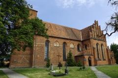 Kościół we wsi Mingajny koło Ornety