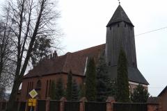 Kościół we wsi Purda